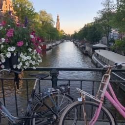 Hallo uit Amsterdam!