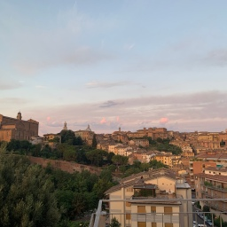 Sunrise in Siena